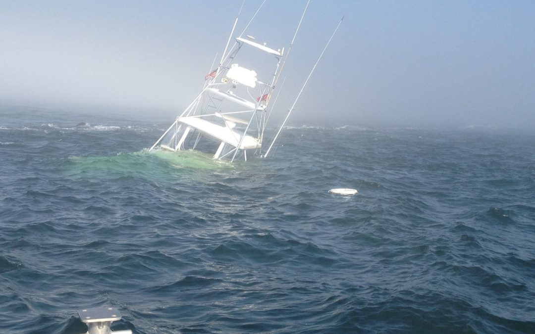 That Sinking Feeling – Tips on Saving Yourself When Your Boat Is Going Down